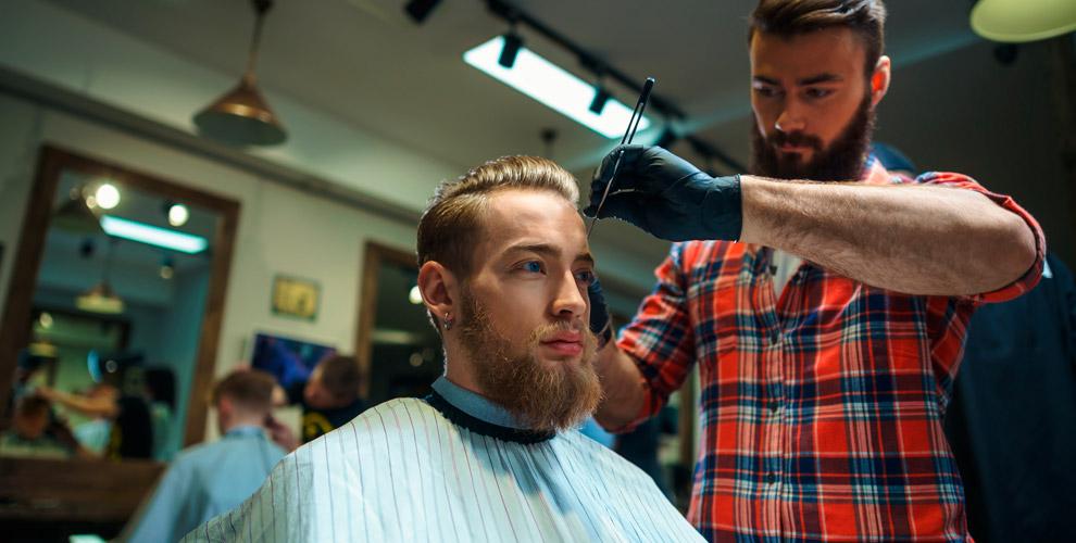 Стрижки, оформление икоррекция бороды вбарбершопе BigBro