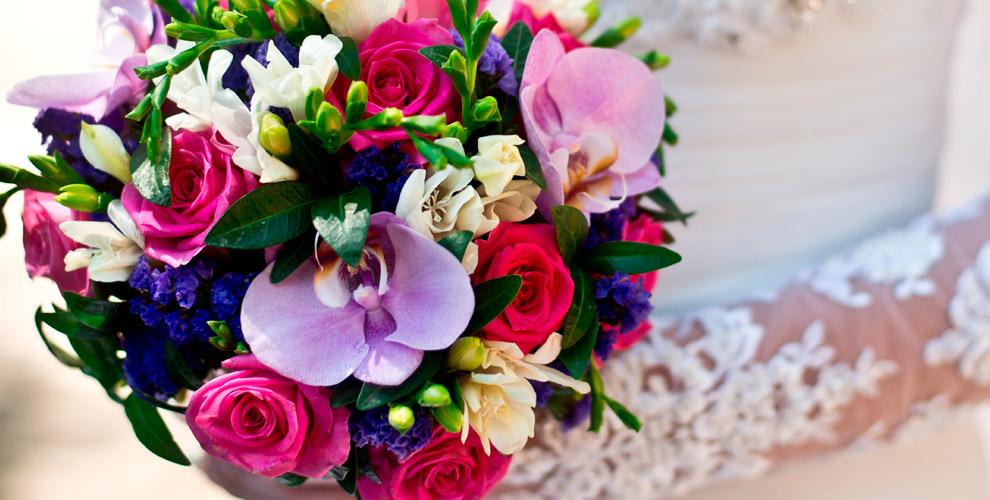 Букеты, розы иорхидеи вмагазине «ДонБукетон»
