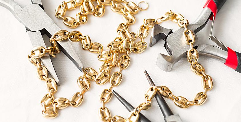 """Пайка кольца, разрыва цепи, полировка изделий и другое в ювелирной мастерской """"Ваш ювелир"""""""