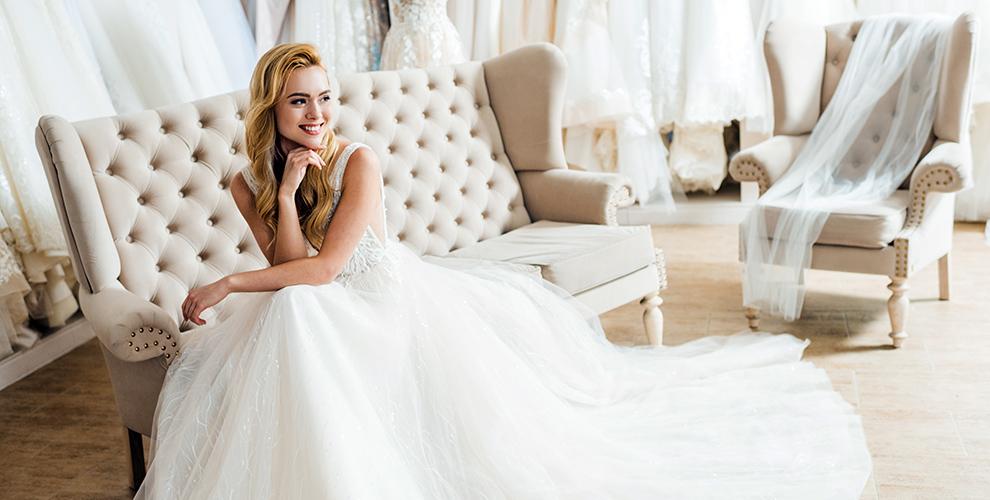 Ассортимент свадебных платьев отсалона WeddingFantasy