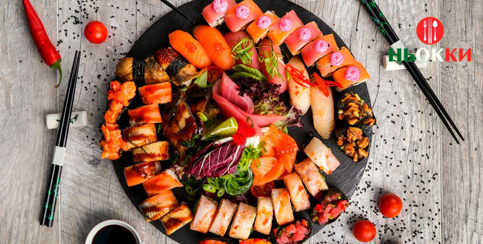 Сеть ресторанов Niokki: роллы, паста, пицца и не только