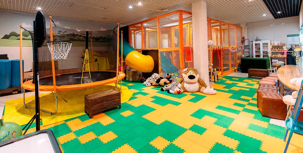 Посещение детской игровой площадки и не только в центре «Остров приключений»