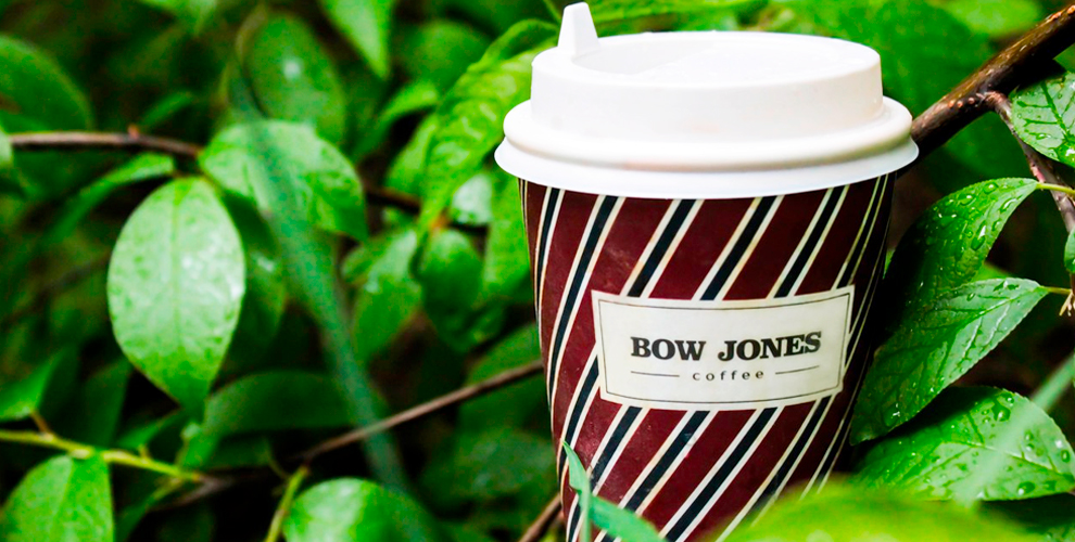 Меню кофе в сети мини-кофеен Bow Jones Coffee