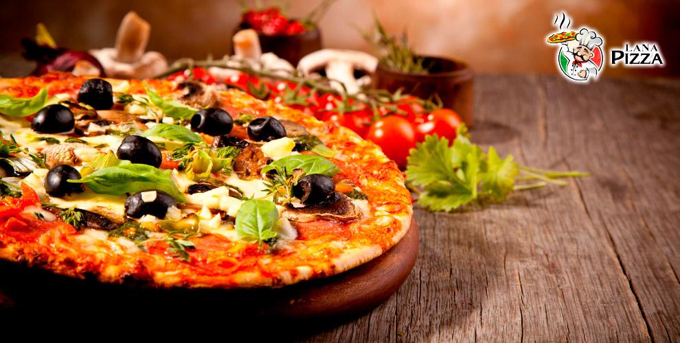 Итальянская пицца и ароматные пироги от службы доставки Lana Pizza