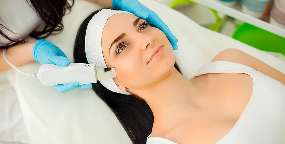 RF-лифтинг, УЗ-чистка и биоревитализация лица в студии красоты Fusion