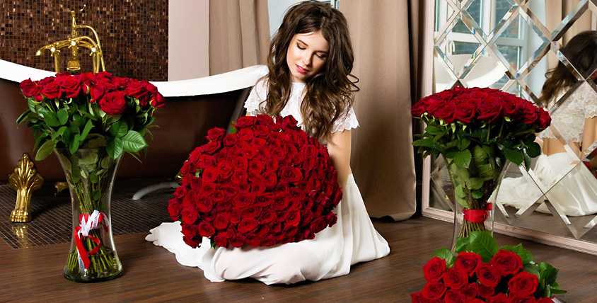 """Розы, тюльпаны, лилии и не только в салоне цветов """"Семицветик"""""""