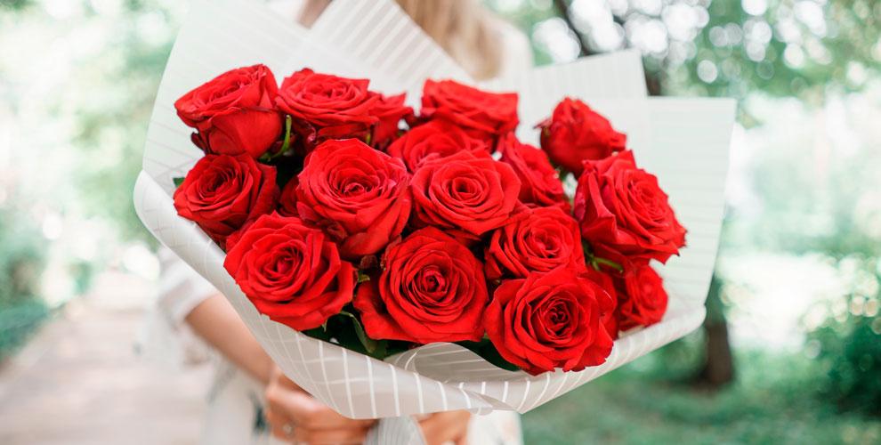 Розы, тюльпаны, лилии, орхидеи, букеты и композиции в салоне «Роза-Мимоза»