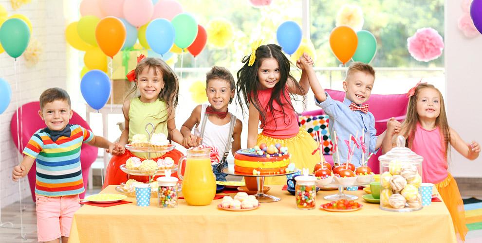 Организация детского праздника с арендой и угощениями от компании «Сказка»
