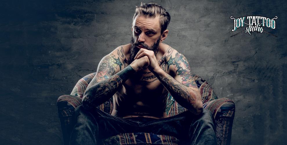 Нанесение татуировки и перманентный макияж бровей или губ в Joy Tattoo Studio