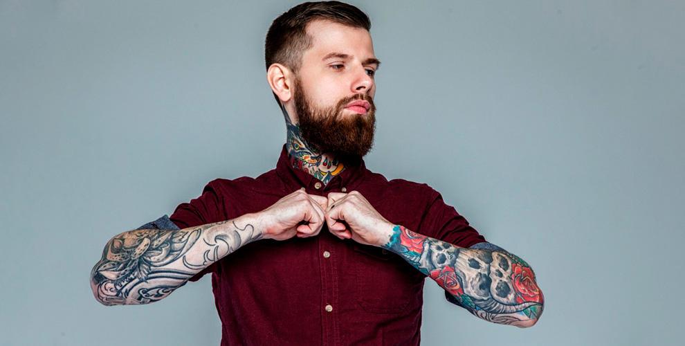 Нанесение иперекрытие художественной татуировки, лазерное удаление отстудии Nika