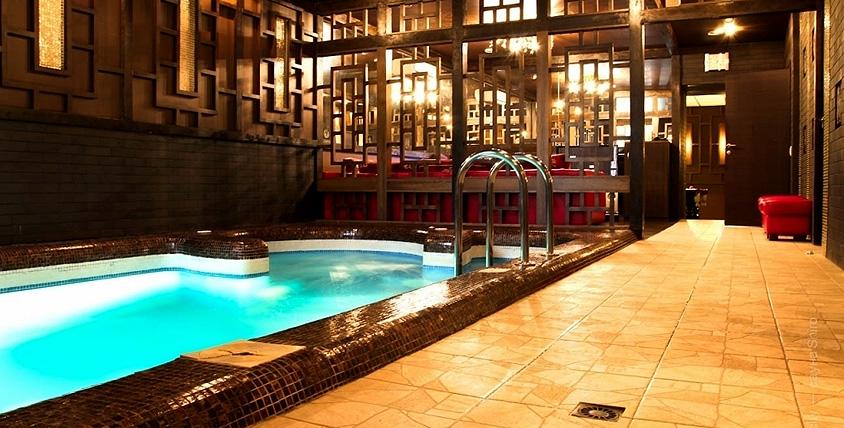 Колоритный интерьер в японском стиле! Посещение VIP-сауны Shiro от оздоровительного комплекса AquaCity теперь и в выходные!