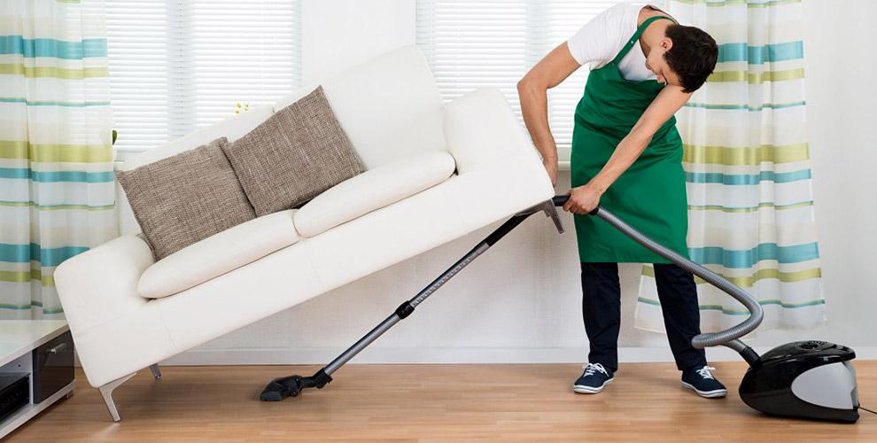 Уборка квартиры и химчистка мебели от клининговой компании «ПрофУборСервис»