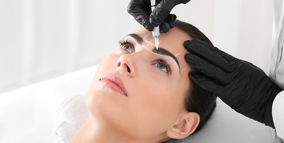 Студия Julia Krasatulia: перманентный макияж бровей, блеск-тату, шугаринг