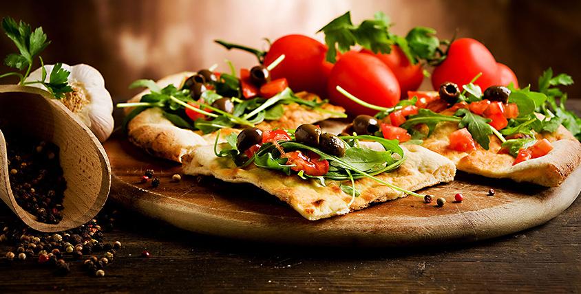 Всё меню пиццы в пиццерии ROCKY PIZZA