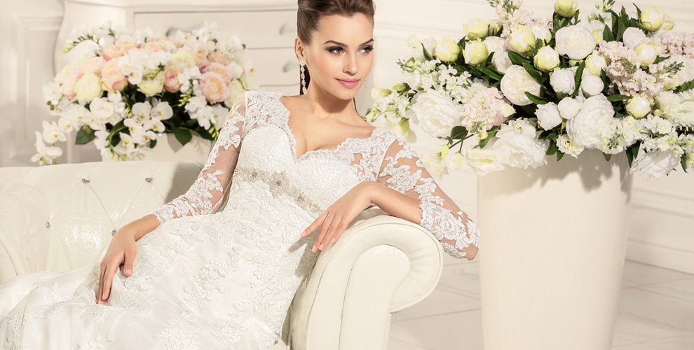 Ассортимент свадебных платьев в салоне Love Story