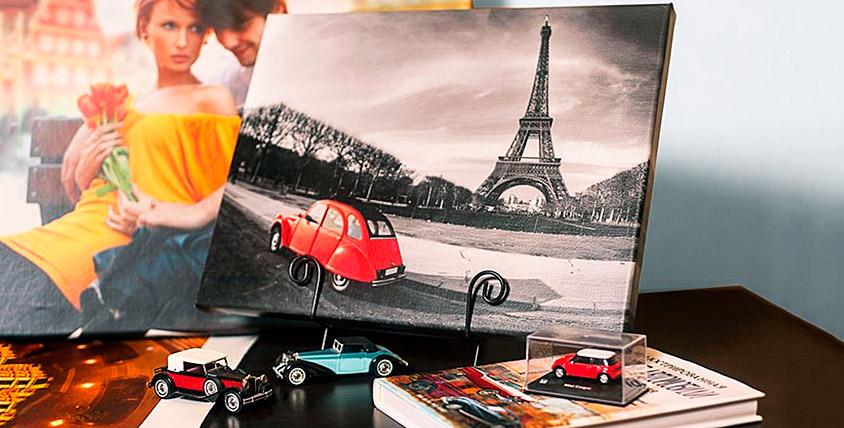 Печать на холсте и фотопечать на премиум-бумаге в фотосалоне Photo lab