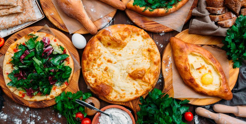 Хачапури, осетинские пироги иморсы отслужбы доставки Eteria