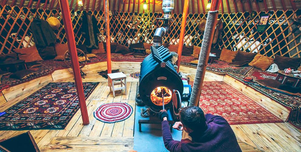 Этнопарк «Территория Сибири»: экскурсия, посещение чайной юрты, чукотский тир