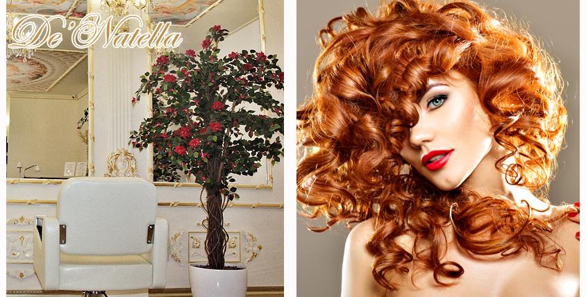 Добро пожаловать в мир красоты! Женская и мужская стрижка, ламинирование и экранирование волос в студии красоты De'Natella