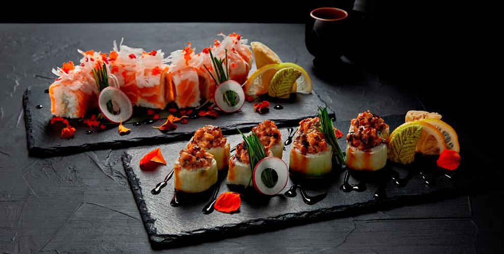 Служба доставки «Палки в Руки»: сеты, роллы, суши, хосомаки, Wok-лапша