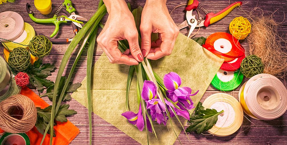 """Обучение флористике и фитодизайну, а так же цветы от салона """"Флора-Стиль"""""""