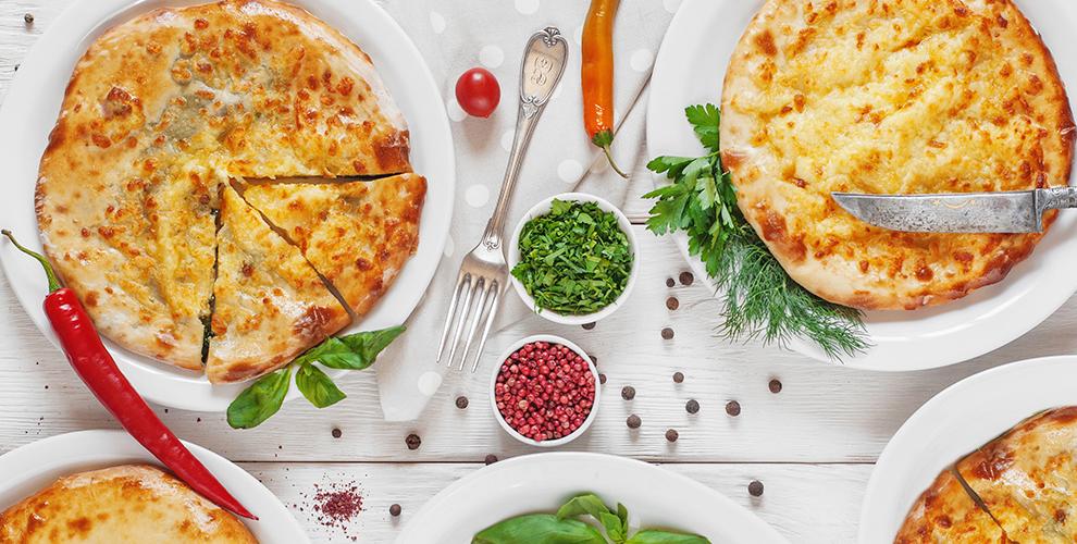 Меню осетинских пирогов и пиццы от пекарни «Пироги Терек»