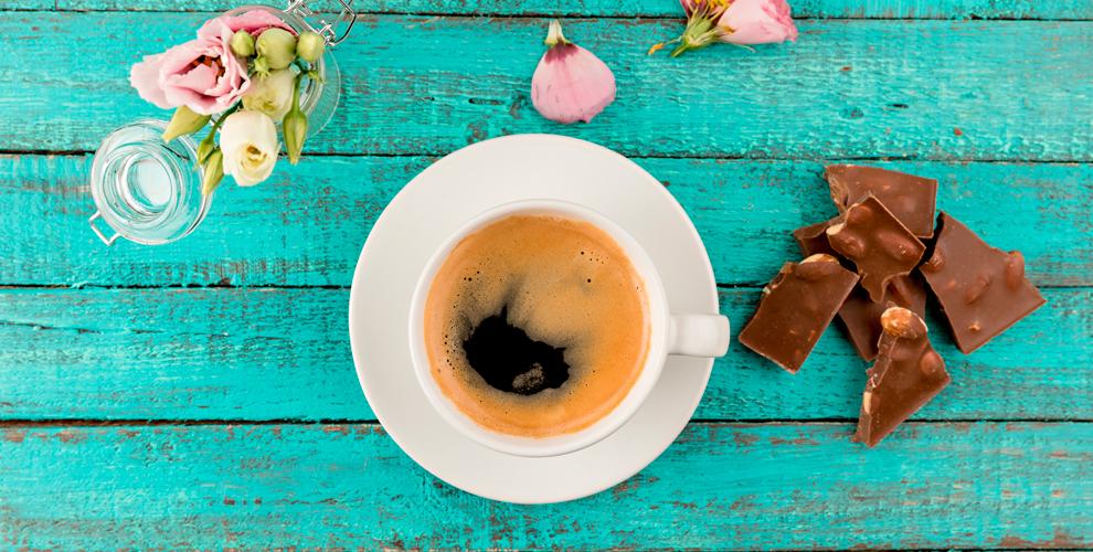 Меню кофе, чая,какао илимонада вкофейне «Манхэттен»