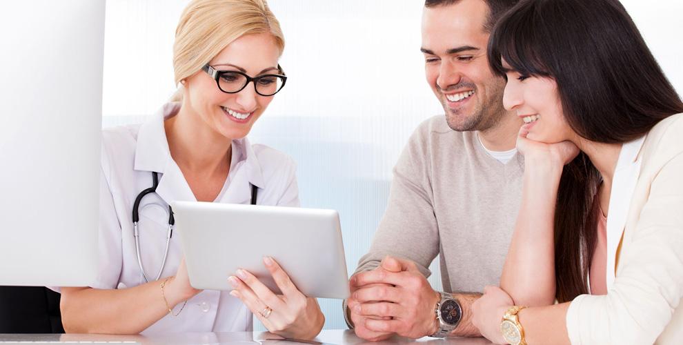 Обследование супружеской пары, консультация гинеколога вцентре «Мужчина иженщина»