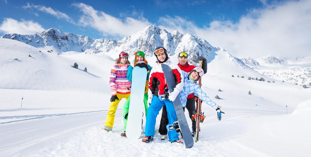 my family ski trip