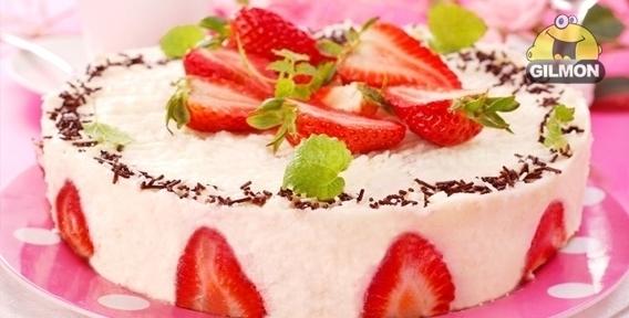 торт с клубникой рецепты с фотографиями