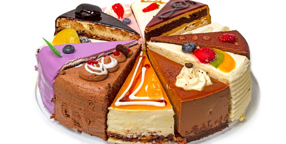 Сеть кофеен-кондитерских «Не торты́, а то́рты»: меню десертов и кофе