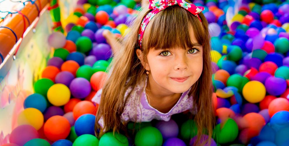 Посещение детской игровой развивающей площадки «Топ-Топ Ландия»