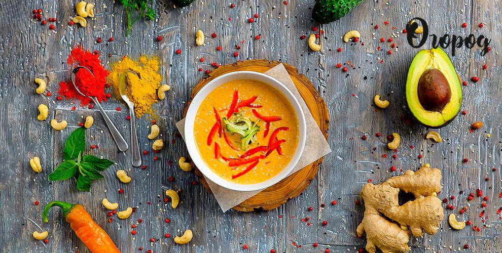 Салаты, супы, бургеры, паста ипицца вдетокс-ресторане «Огород»