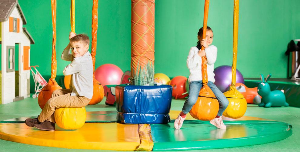Безлимитное посещение детского парка развлечений SkyPark Kids