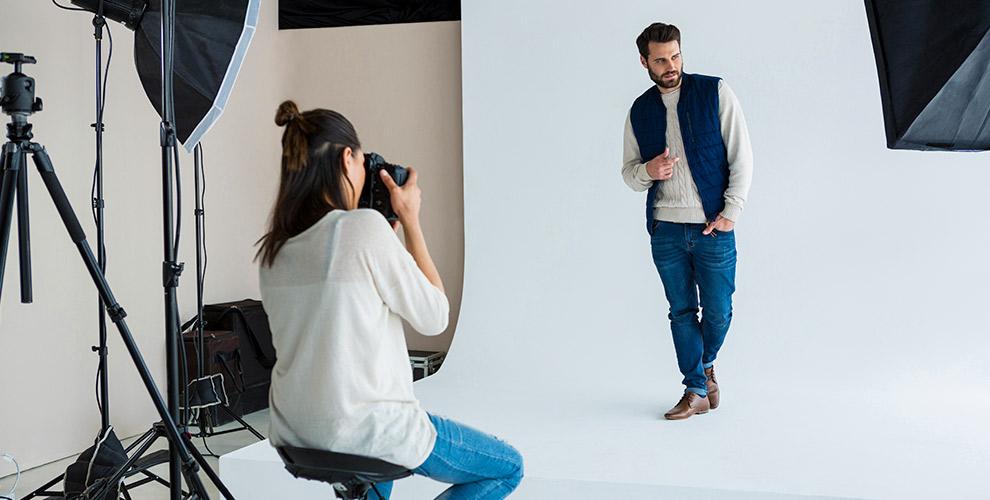 Студийная фотосессия для одного или компании от студии Davinchiphoto