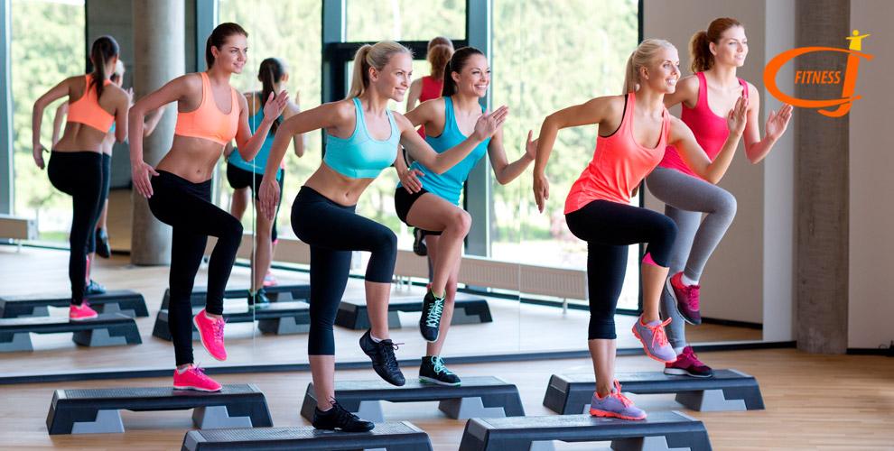 Занятия фитнесом длядетей ивзрослых, аэройга встудииCJ