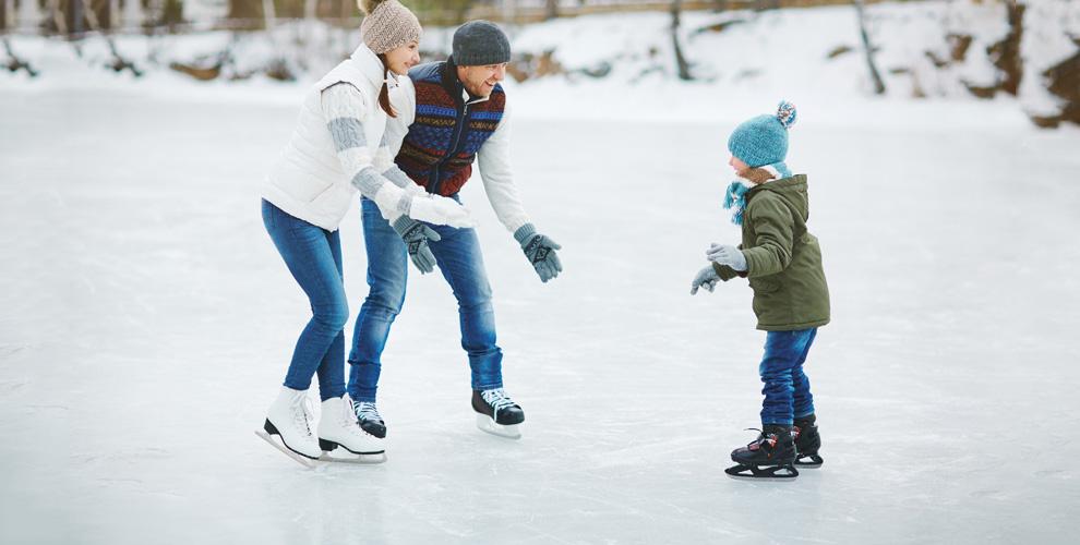 «Каток в Саду Победы»: катание на коньках, тюбинге и ватрушках