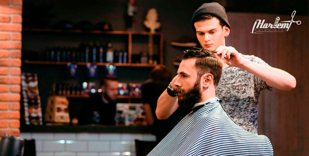 Стрижки, моделирование бороды, камуфляж седины вBarbershop HARLEM