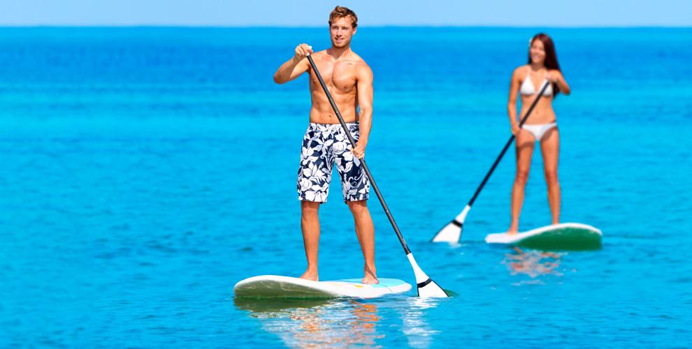 SUPSPOT: прогулка наSUP-серфинге вбудние ивыходныедни