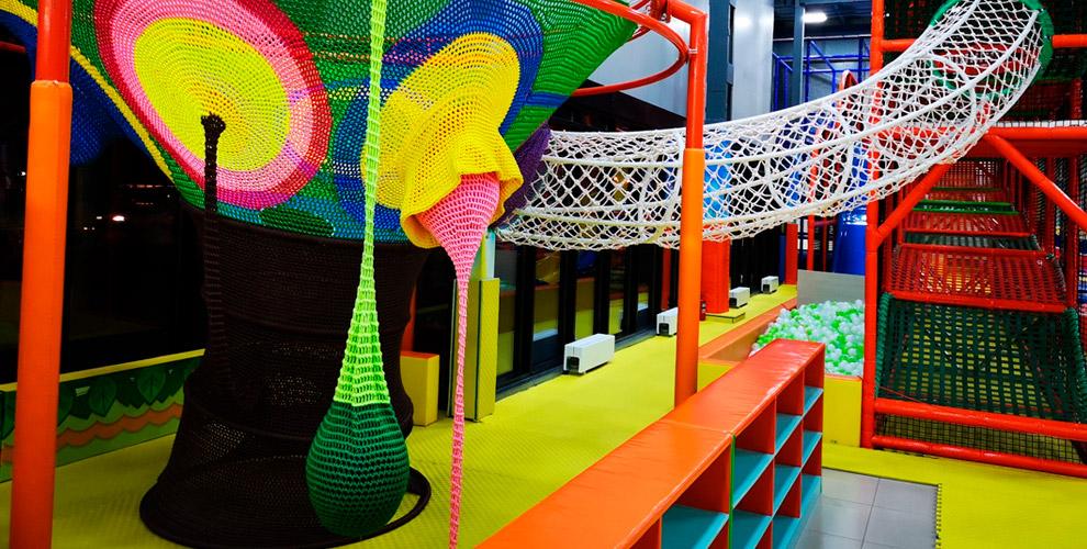 Посещение спортивно-развлекательного центра «Зона гравитации» для взрослых и детей