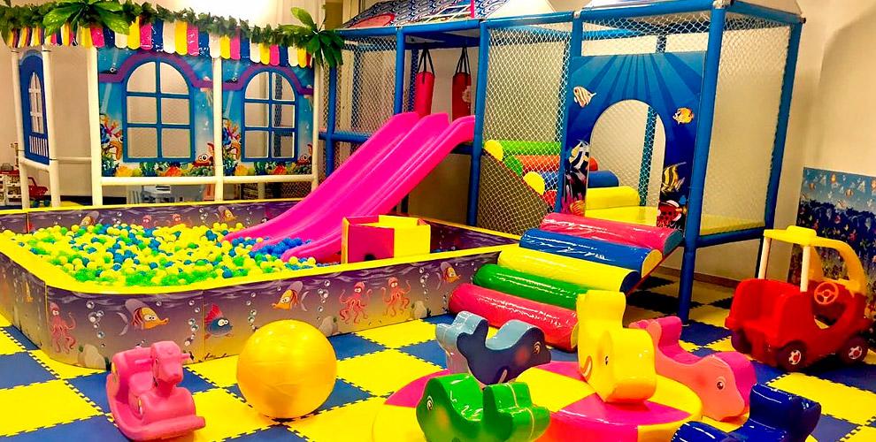 Посещение детской игровой площадки Happy baby в ТРЦ «Ботаника Молл»