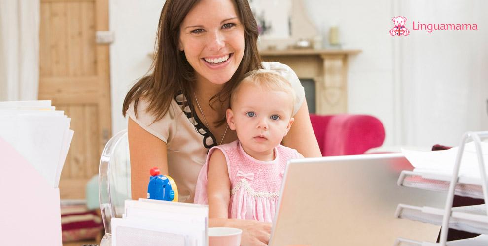 Онлайн-школа английского языка для мам Linguamama: участие в онлайн-марафоне
