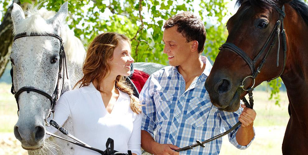 Конный клуб «Гармония»: прогулка влесу, мастер-класс ипосещение конного двора