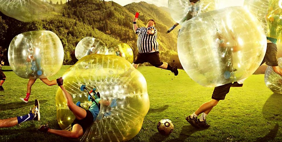 Игра в бампербол в любой день от компании Bumperball