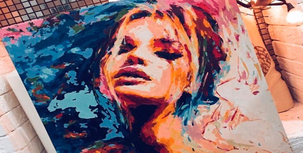 Картина-раскраска и набор «Алмазная живопись» от компании Painting by numbers