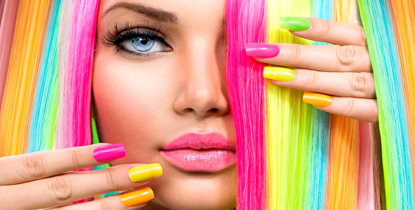 Окрашивание волос, маникюр и биозавивка ресниц в салоне красоты Rайдо
