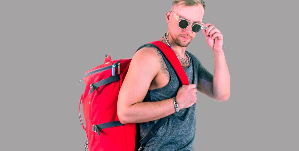 Рюкзак-трансформер и чемоданы от интернет-магазина GNGstore.ru