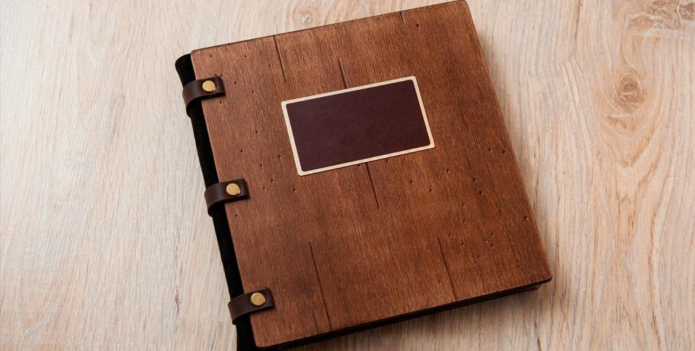 LEGRODEKO: изготовление блокнота сдеревянной обложкой ичехла