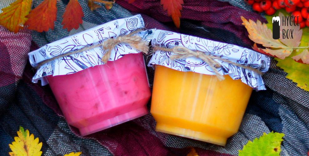 Медовый мусс, подарочный набор свечей из натуральной вощины или воска от Hygge Box