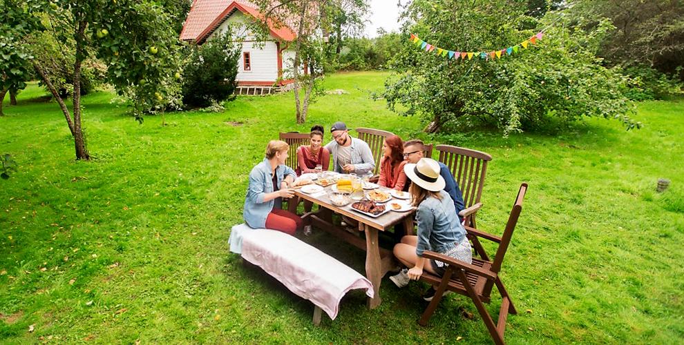 Проживание в республике Алтай в домике категории «Шале» на базе отдыха «Медовуха»